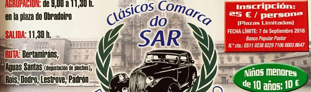 Concentración de vehículos clásicos e históricos