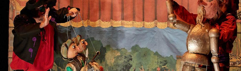 'Galicreques 2016': 'Don Quijote por la Mancha de Aragón' Tatro Arbolé (Aragón). Función escolar
