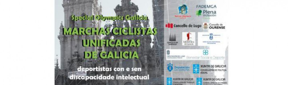 'Special Olympics Galicia': Marchas Ciclistas Unificadas de Galicia
