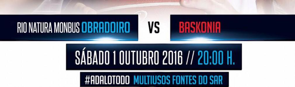 Baloncesto: Obradoiro CAB vs Baskonia