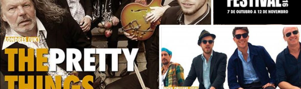 Outono Códax Festival 2016. Concierto de Luke Winslow King + The Pretty Things