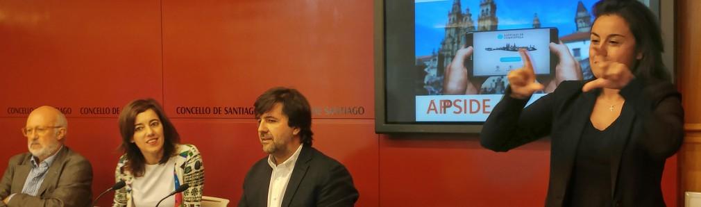 Santiago de Compostela estrena una app accesible impulsada por Fundación Orange y GVAM