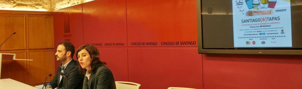 Turismo de Santiago e a Asociación Hostelería Compostela volven organizar o exitoso Santiago(é)Tapas
