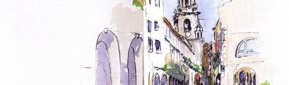 Cuadernos de viaje con 'Compostela Ilustrada'