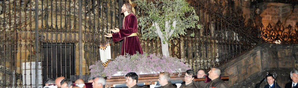 Procession of the Prayer in the Garden and Arrest of Jesus