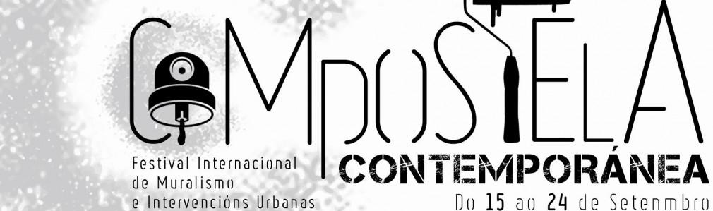 Compostela Contemporánea. Festival Internacional de Muralismo e Intervencións Urbanas
