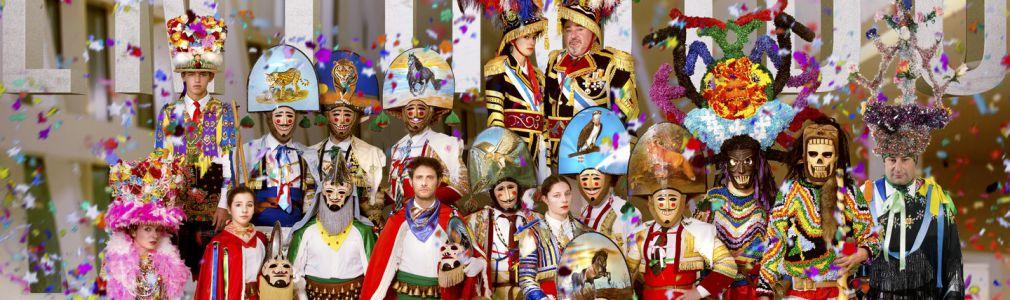 Traditional Galician Carnival Parade
