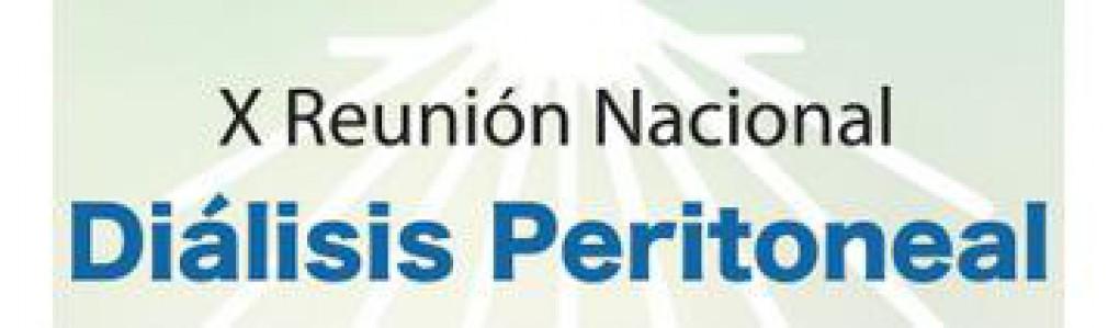 X Reunion de Dialisis Peritoneal