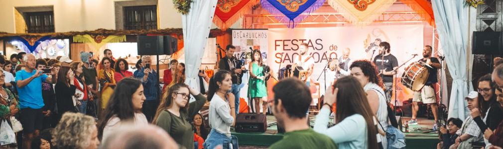 Santiago celebra San Juancon música, gastronomía, talleres y el fuego sagrado del Pico Sacro