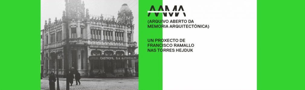 AAMA. Arquivo Aberto da Memoria Arquitectónica