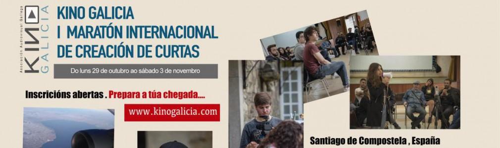 Santiago acoge el 1º Maratón Internacional de Creación de Cortometrajes Kino Galicia
