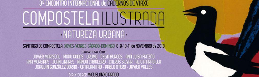 Compostela Ilustrada. III Encontro de Cadernos de Viaxe
