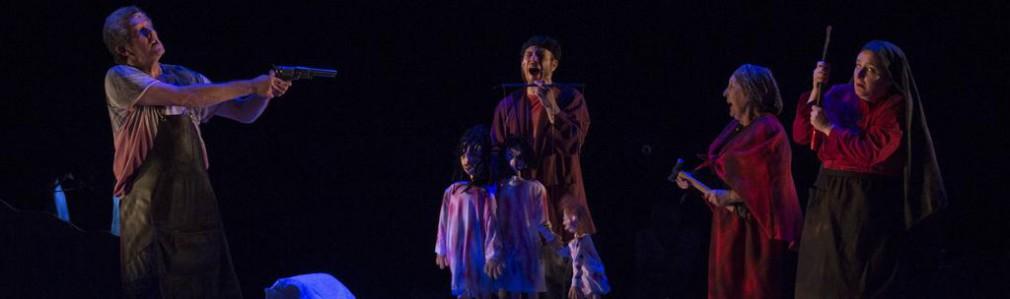 'Da avaricia, a luxuria e a morte', Teatro do Noroeste