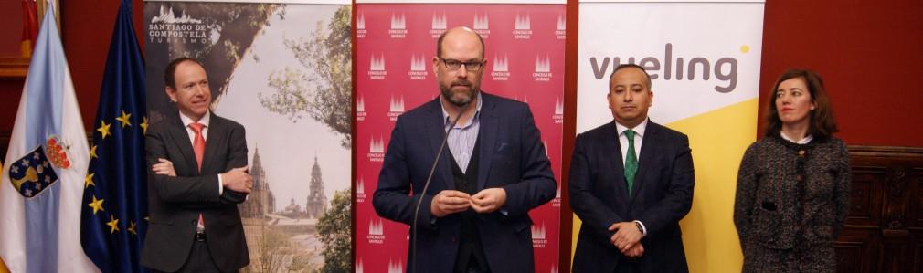 Vueling basa su segundo avión en Compostela e incrementa frecuencias con Barcelona
