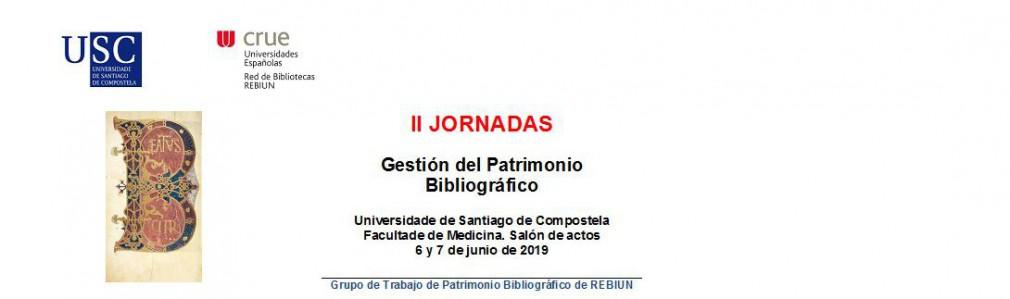 II Jornadas de Gestión del Patrimonio Bibliográfico