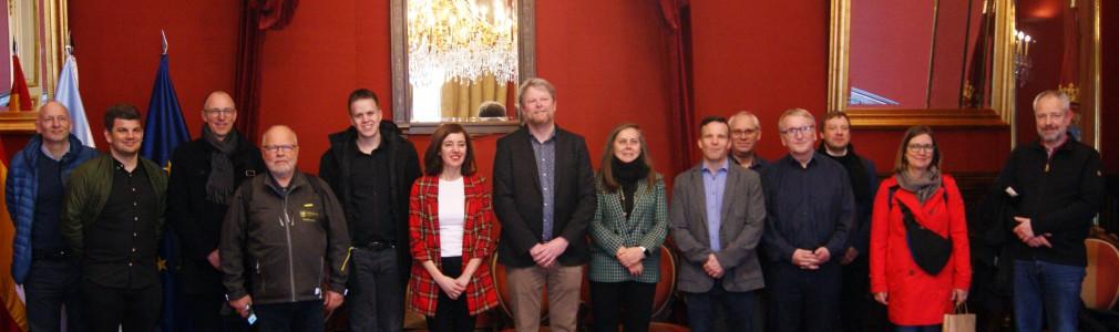 Una delegación danesa visita Santiago para conocer las políticas turísticas de la ciudad