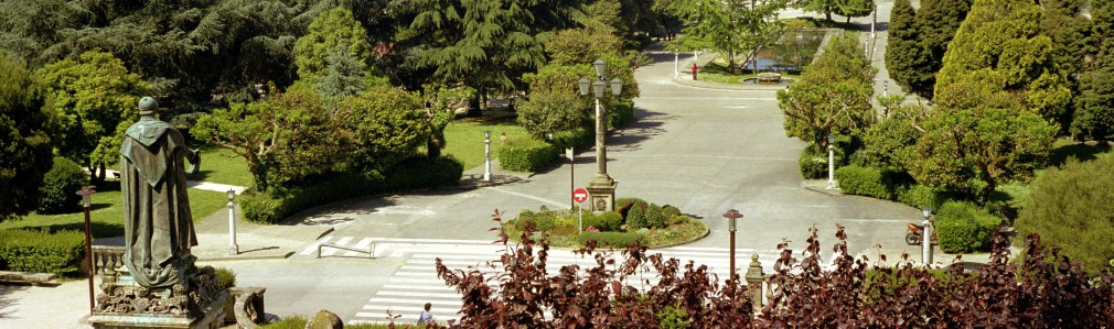 Town plannign and gardens in the South University Campus