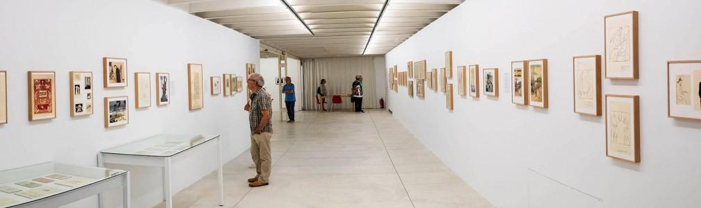 Exhibition 'Castelao grafista' at the Torrente Ballester Foundation