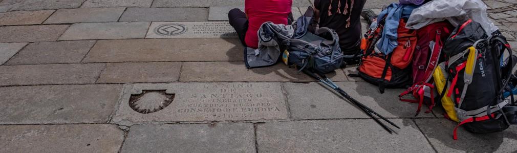 Way of St. James: plaque
