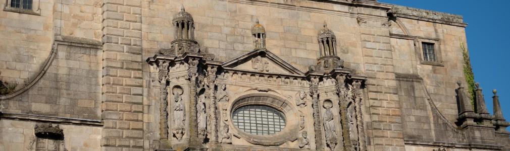 San Martín Pinario: Church façade