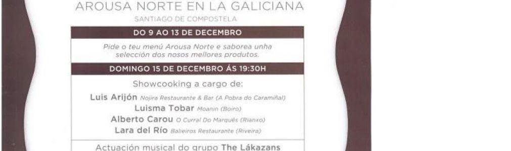 'Arousa Norte' Gastronomic Week in Galiciana