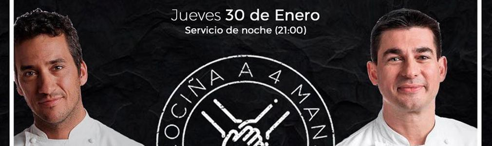 "Cociña a 4 mans: Yayo Daporta and Javier Rodríguez ""Taky"""