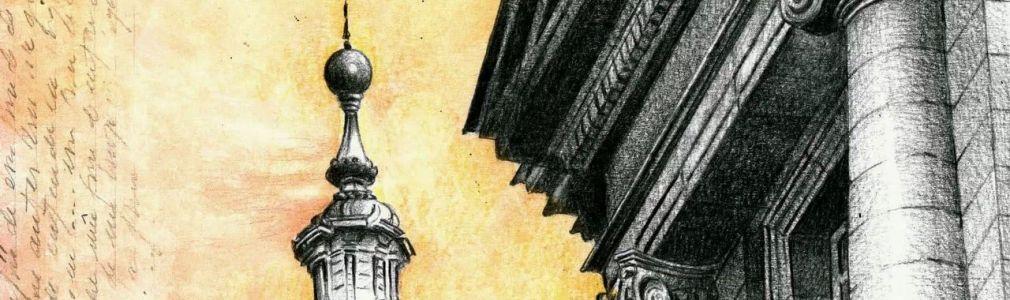 Arquitecturas debuxadas. Compostela - Santiago Catalán
