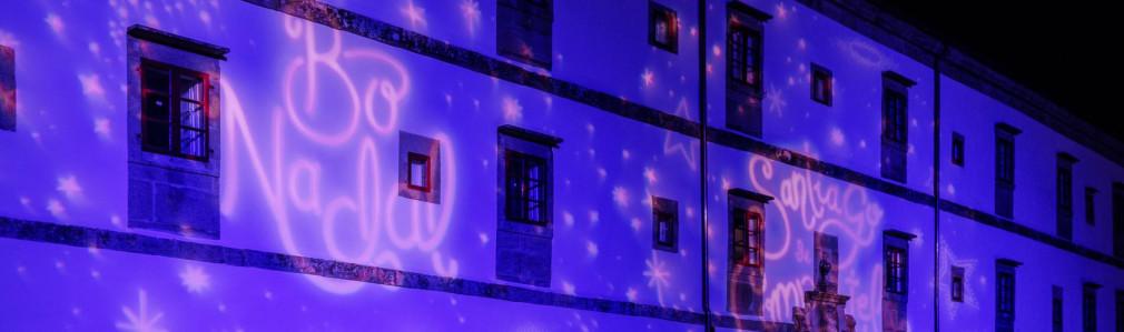 Iluminación de Nadal: San Domingos de Bonaval