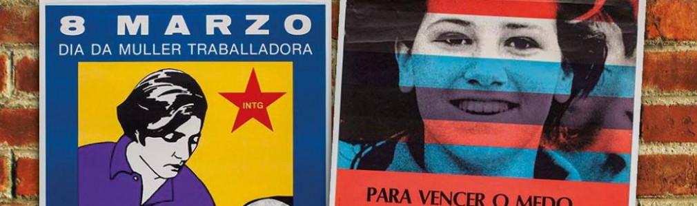 8M: Día das Mulleres: Mostra de carteis nas coleccións no Museo do Pobo Galego