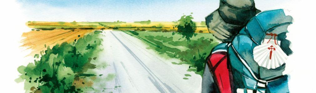 O Camiño ilustrado. Unha viaxe pintada por Alicia Aradilla