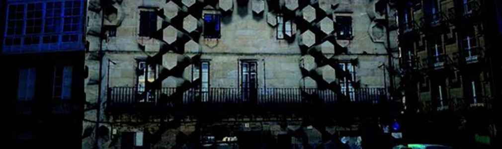 Videomapping: Pegada, con Roi Fernández