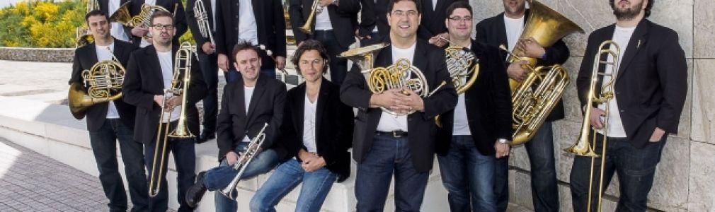 Via Stellae 2014: 'Un nuevo ensemble de metales… Galicia Brass'
