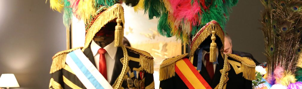 Exposición de trajes del Carnaval de Os Xenerais da Ulla