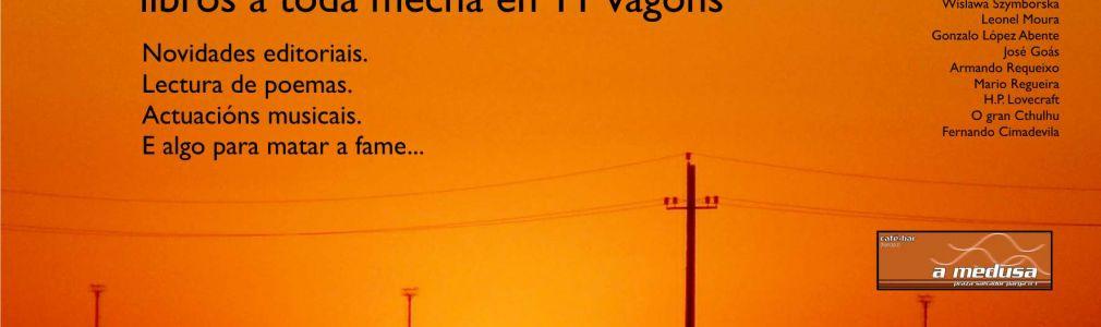 'El exprés literario': Libros a toda mecha en 11 vagones'
