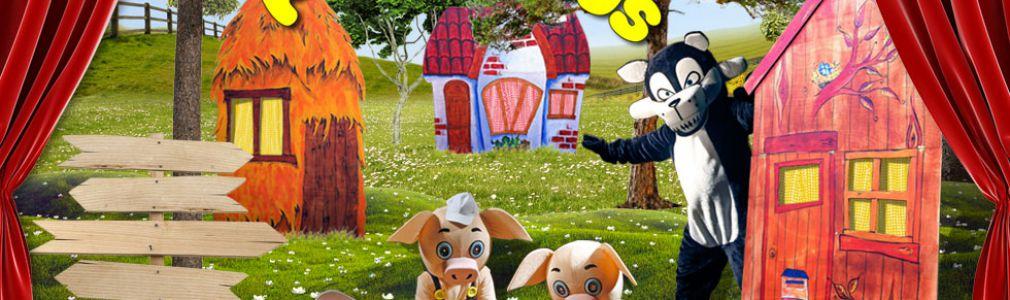EducaTeatro Producións: 'Os tres porquiños'