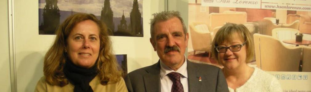 Turismo de Santiago y Asociación Hostelería Compostela promocionan conjuntamente a la ciudad en Turexpo