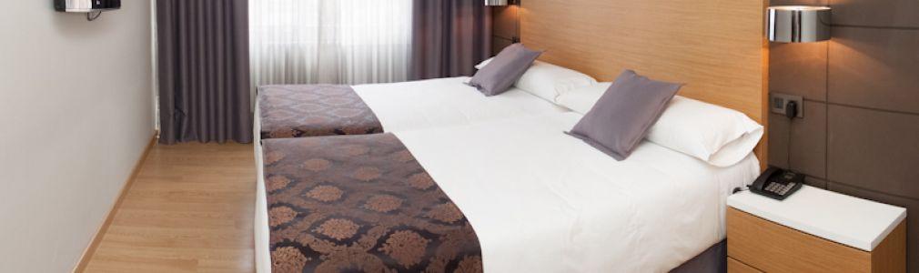 hotel husa universal en santiago de compostela: