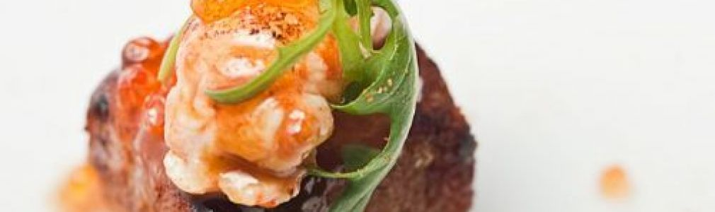 Pork Jowl with Small Norway Lobster is Santiago´s best tapa