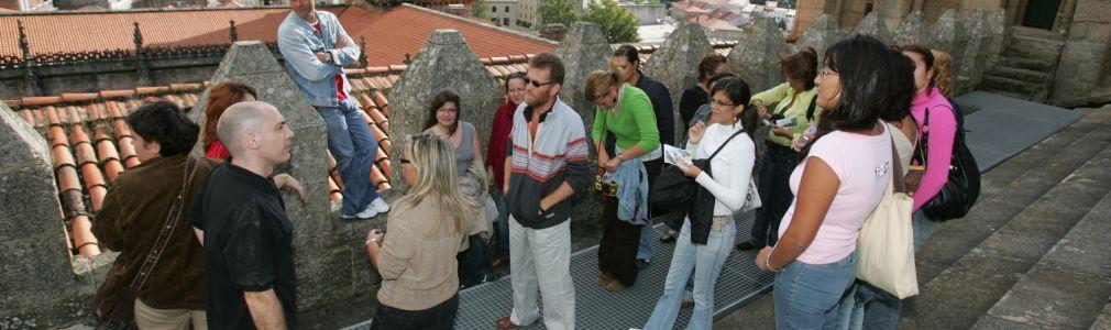 The rooftops… and Compostela's Quasimodo