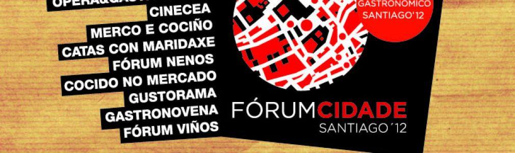 Santiago respirará gastronomía con el Fórum Ciudad