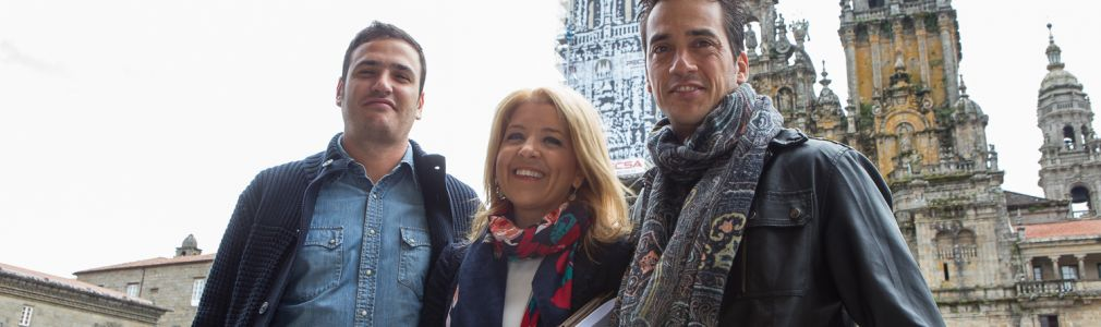 Top Chef graba un programa en Santiago de Compostela