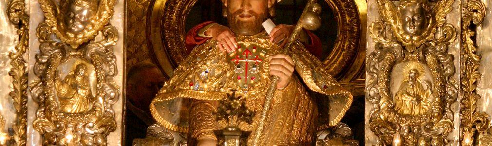 Apóstol, detalle del altar