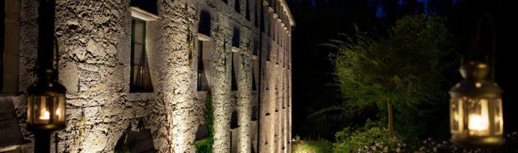 Hotel A Quinta da Auga  - Exterior noche