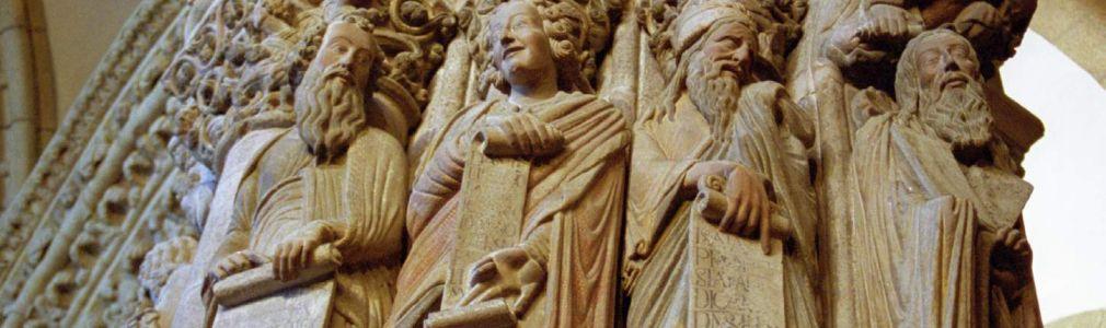 Pórtico de la Gloria, detail