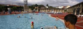 City swimming pools