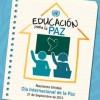 Muestras bibliográficas 'Día Internacional de la Paz'