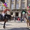 Xenerais da Ulla 2013 – Carnaval Tradicional: Presentación en el Obradoiro