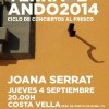 Ciclo 'TerraZeando 2014': Joana Serrat
