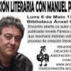 Encuentro de creación literaria con Manuel Portas