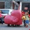 'Verán na rúa 2013': 'Velocíclopes' de Fantoches Baj